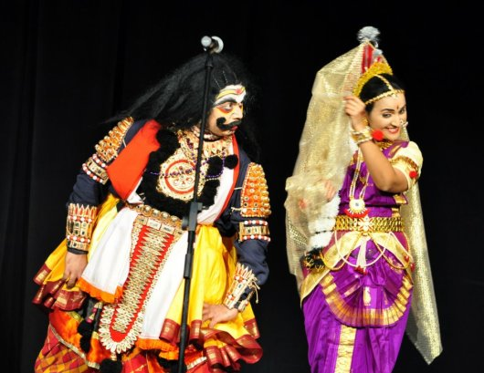 Yakshagana_Bhasmasura-Mohini